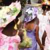 Happy Children & Easter Hats in Barbados