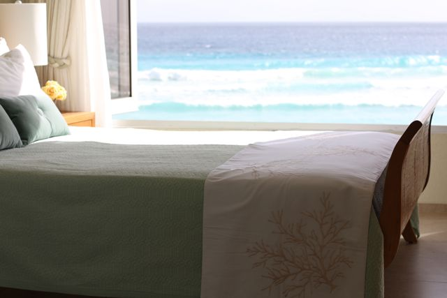 Beautiful Barbados rental on the beach & views of the Caribbean Sea that will knock your socks off.