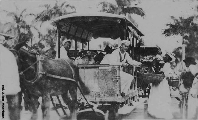 Horse-drawn trams transported Bajans from 1885 to 1925