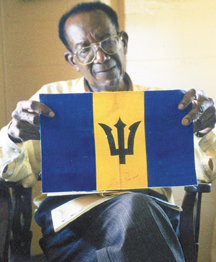 Grantley Prescod, designer of Barbados' flag