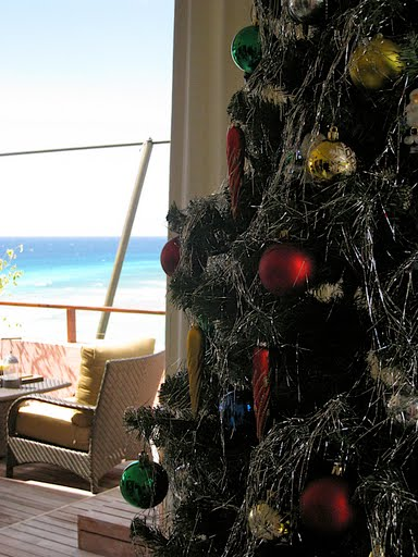 A Caribbean Christmas tree