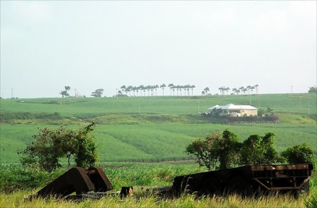 The St George Valley, northern Barbados' St George and St Thomas parishes