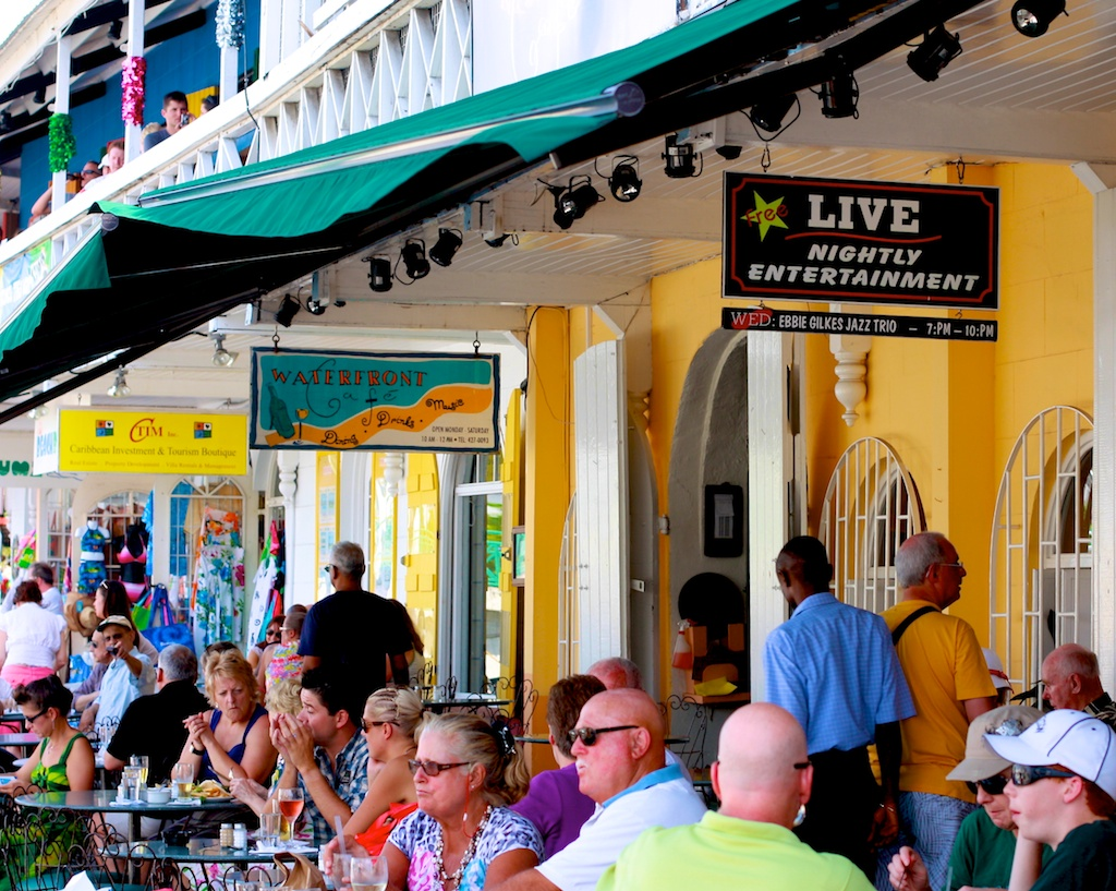 Waterfront Cafe Bridgetown Barbados