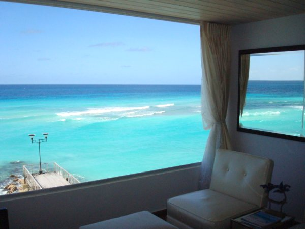 Barbados' south coast from the St Lawrence Beach Condos