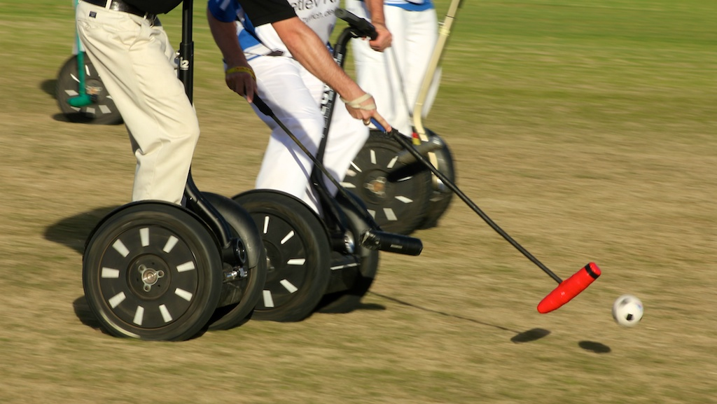 Segway Polo in Barbados