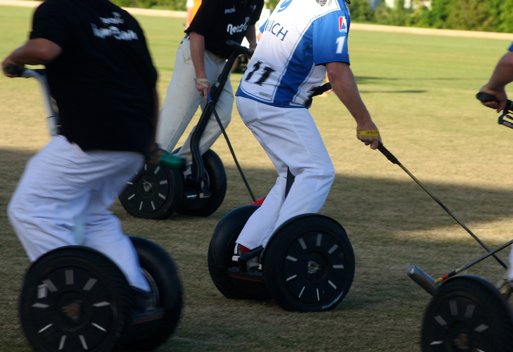 Segway polo Barbados 2010