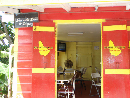 rum shop in Barbados