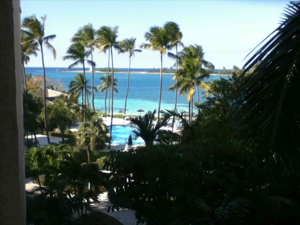 View from Nassau Hilton
